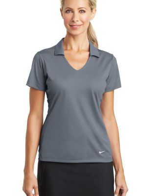 Nike Golf 637165  Ladies Dri-FIT Vertical Mesh Pol Cool Grey
