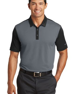 Nike Golf 746101  Dri-FIT Colorblock Icon Modern F Dk Grey/Black