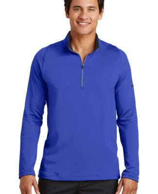 Nike Golf 779795  Dri-FIT Stretch 1/2-Zip Cover-Up Deep Royal/Blk