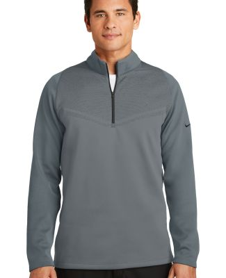 Nike Golf 779803  Therma-FIT Hypervis 1/2-Zip Cove Dark Grey/Blk