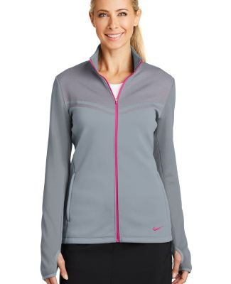 Nike Golf 779804  Ladies Therma-FIT Hypervis Full- Cool Gy/Viv Pk