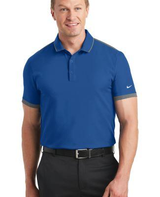 Nike Golf 838958  Dri-FIT Stretch Woven Polo Gym Blue/Dk Gy
