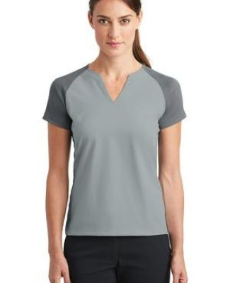 Nike Golf 838960  Ladies Dri-FIT Stretch Woven V-Neck Top Catalog