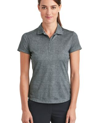 Nike Golf 838961  Ladies Dri-FIT Crosshatch Polo Cool Grey/Anth