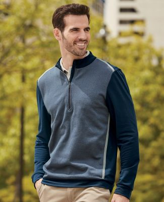 Adidas A277 Golf Quarter-Zip Birdseye Fleece Pullover Catalog