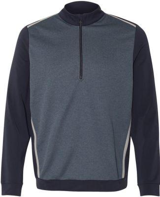 Adidas A277 Golf Quarter-Zip Birdseye Fleece Pullo Navy