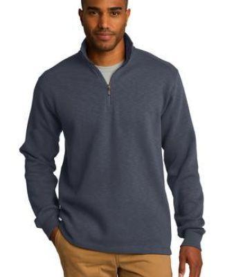 Port Authority F295    Slub Fleece 1/4-Zip Pullover Catalog