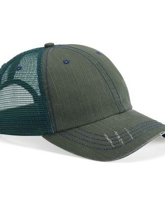Mega Cap 6990 Herringbone Unstructured Trucker Cap Catalog