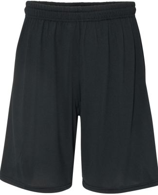 "Gildan 46S30 Performance® Core 8"" Inseam Shorts BLACK"