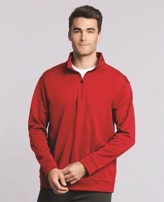 Gildan 99800 Performance® Tech Quarter-Zip Pullover Sweatshirt Catalog