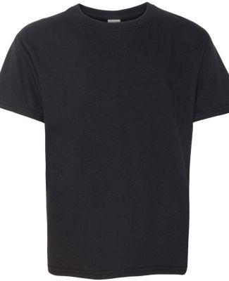 Gildan 64500B SoftStyle Youth Short Sleeve T-Shirt BLACK