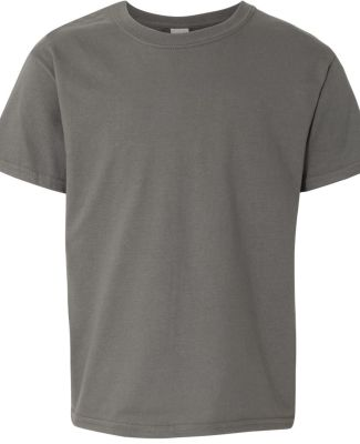 Gildan 64500B SoftStyle Youth Short Sleeve T-Shirt CHARCOAL