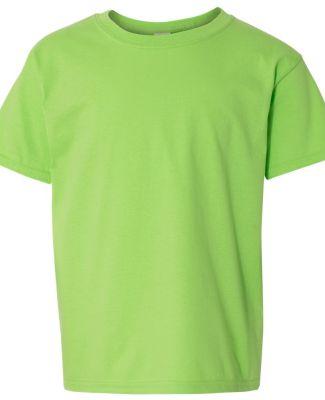 Gildan 64500B SoftStyle Youth Short Sleeve T-Shirt LIME
