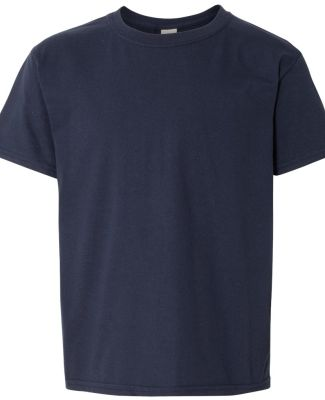 Gildan 64500B SoftStyle Youth Short Sleeve T-Shirt NAVY