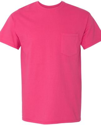 Gildan 5300 Heavy Cotton T-Shirt with a Pocket HELICONIA