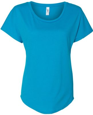 Next Level 1560 Women's Ideal Dolman TURQUOISE