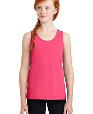 District DT5301YG    Girls The Concert Tank Neon Pink