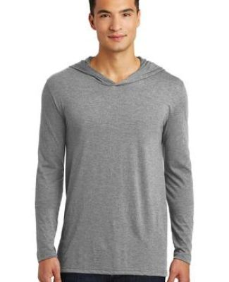 District Made DM139    Mens Perfect Tri   Long Sleeve Hoodie Catalog