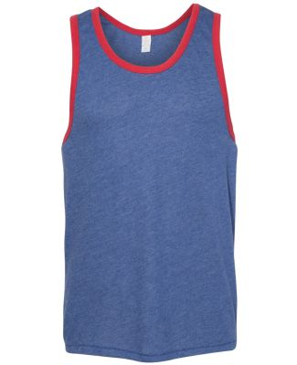 Alternative 05053BP Keeper Vintage Ringer Tank VINT ROYAL/ RED