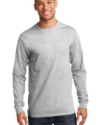 Port & Co PC61LST mpany   - Tall Long Sleeve Essen Ash