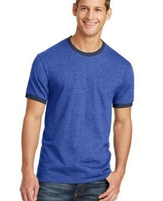 Port & Co PC54R mpany   Core Cotton Ringer Tee Catalog