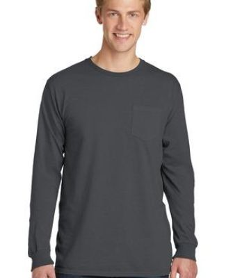 Port & Co PC099LSP mpany   Pigment-Dyed Long Sleeve Pocket Tee Catalog