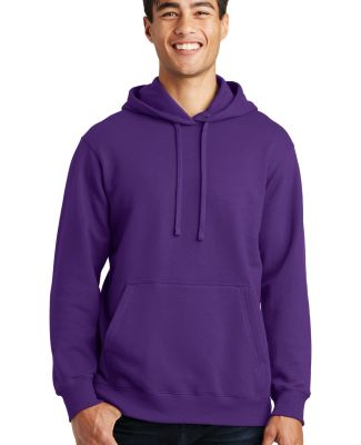 Port & Co PC850H mpany   Fan Favorite Fleece Pullo Team Purple