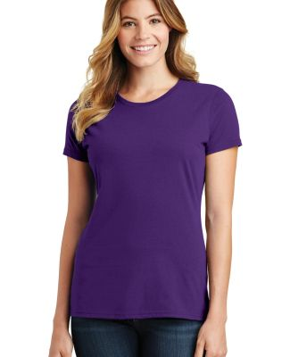 Port & Company LPC450 Ladies Fan Favorite Tee Team Purple