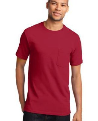 Port & Company PC61PT Tall Essential Pocket Tee Catalog