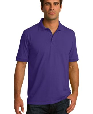 Port & Co KP55T mpany   Tall Core Blend Jersey Kni Purple