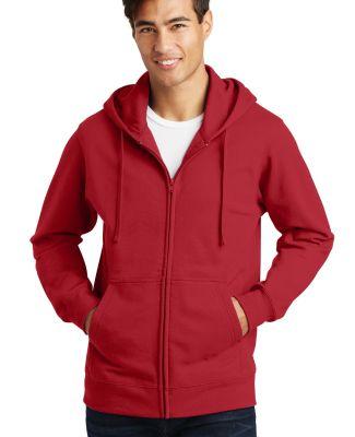 Port & Co PC850ZH mpany   Fan Favorite Fleece Full Team Cardinal
