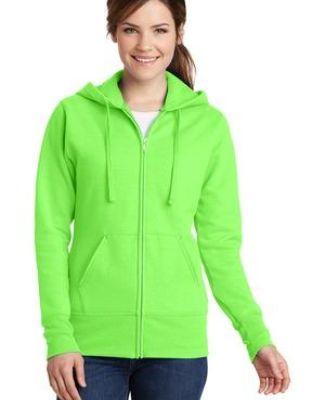 Port & Co LPC78ZH mpany   Ladies Core Fleece Full-Zip Hooded Sweatshirt Catalog