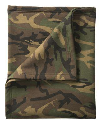 Port & Co BP78C mpany   Core Fleece Camo Sweatshir Military Camo