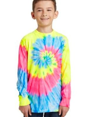 Port & Co PC147YLS mpany   Youth Tie-Dye Long Sleeve Tee Catalog