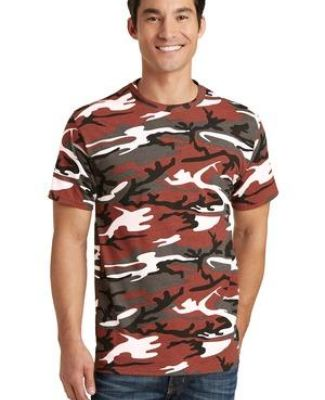 Port & Co PC54C mpany   Core Cotton Camo Tee Catalog
