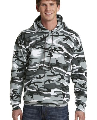 Port & Co PC78HC mpany   Core Fleece Camo Pullover Winter Camo