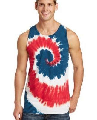 Port & Co PC147TT mpany   Tie-Dye Tank Top Catalog