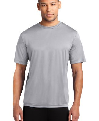 Port & Co PC380 mpany   Performance Tee Silver
