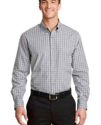 Port Authority S654    Long Sleeve Gingham Easy Care Shirt Catalog