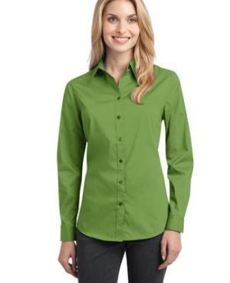 Port Authority L646    Ladies Stretch Poplin Shirt Catalog
