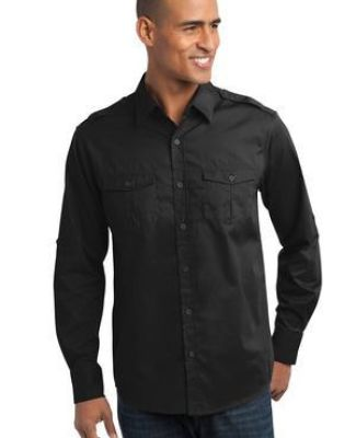 Port Authority S649    Stain-Release Roll Sleeve Twill Shirt Catalog