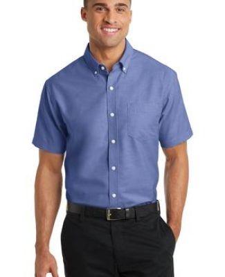 Port Authority S659    Short Sleeve SuperPro   Oxford Shirt Catalog