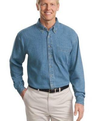 Port Authority TLS600    Tall Long Sleeve Denim Shirt Catalog