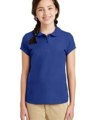 Port Authority YG503    Girls Silk Touch   Peter Pan Collar Polo Catalog