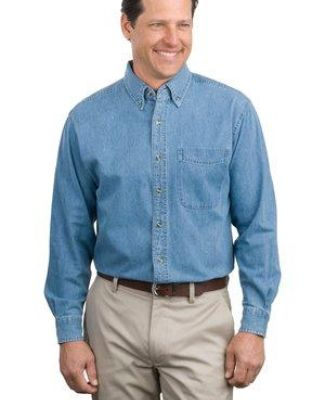 Port Authority S600    Long Sleeve Denim Shirt Catalog