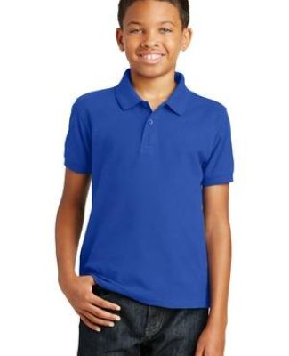 Port Authority Y100    Youth Core Classic Pique Polo Catalog