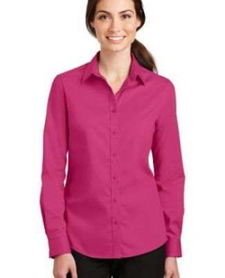 Port Authority L663    Ladies SuperPro   Twill Shirt Catalog