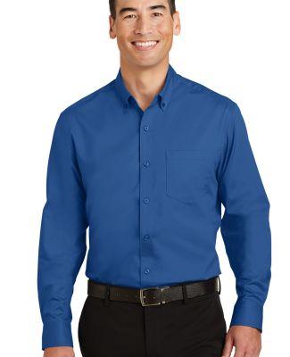 Port Authority S663    SuperPro   Twill Shirt True Blue