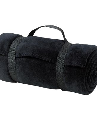 Port Authority BP10    - Value Fleece Blanket with Black