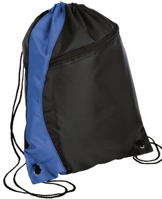Port Authority BG80    -  Colorblock Cinch Pack Royal/Black